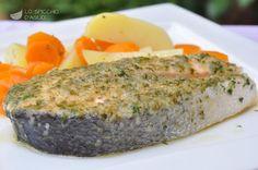 Scopri il modo migliore di preparare Salmone in padella in 45 minuti. Solo 360 kcal a porzione!