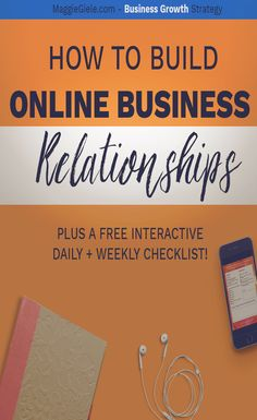4 actionanle steps to take to start building genuine online business realtionships. You might even find your next mastermind or business BFF! Free interactive checklist of daily + weekly tasks, just for you.
