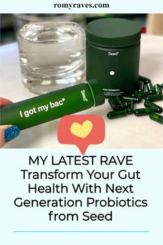 Girls - I've transformed myself this year, by both eating cleaner and taking this daily Probiotic.. Learn about my journey and see if you can relate #health #gut #bloat #healthy