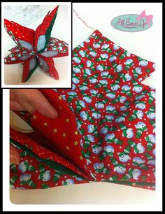 So Sew Simple sewing projects for beginners 3d Christmas Tree, Christmas Patchwork, Fabric Christmas Trees, Christmas Makes, Christmas Items, Christmas Decorations To Make, Handmade Christmas, Christmas Crafts, Christmas Ornaments