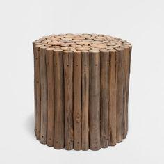 ROUND STICKS STOOL - Occasional Furniture - Decoration | Zara Home United Kingdom