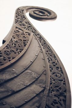 """dopediamond: """"Dope…Oseberg Ship, Viking Ship Museum, Oslo - Norway """" Copyright: me. This is my photo, someone just took it and made it black and white, you could atleast source me as the photographer. Viking Symbols, Viking Art, Viking Warrior, Viking Queen, Viking Aesthetic, Viking Longship, Museum Poster, Viking Designs, Vegvisir"""