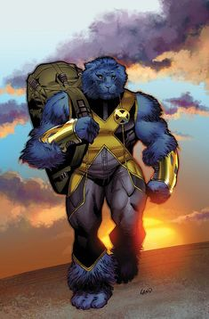The Beast by Greg Land #XMen #Mutants