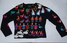 Check out this item in my Etsy shop https://www.etsy.com/listing/244967981/vintage-michael-simon-christmas-sweater
