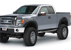 Ford Truck Accessory - EGR Ford F-Series Bolt-On Look Fender Flares