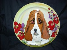 Pet Bowl 6 Dog Bowl for Food or Water Personalized at no Charge Signed by Artist Debby Carman *** Want additional info? Click on the image.(This is an Amazon affiliate link and I receive a commission for the sales)