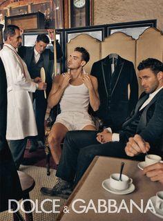Dolce & Gabbana Winter 2011 Man Ad Campaign