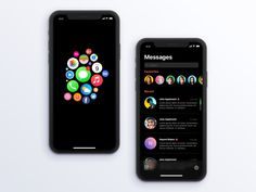 The Dark Project - Interactions designed by Lahesh for Orizon. Connect with them on Dribbble; Ios App Design, Responsive Web Design, Dashboard Design, Mobile App Design, Interface Design, User Interface, Ux Design, Dark Mode For Iphone, Arduino