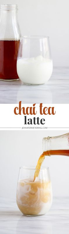 Chai Tea Latte - Have your Chai Tea anytime with the simple Chai Tea concentrate to make all your favorite Chai drinks!