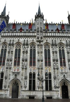Gothic town hall ~ Bruges