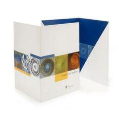 corporate pocket folder design by BIANCHI Design Art, Print Design, Logo Design, Design Ideas, Custom Presentation Folders, Folder Holder, Corporate Design, Corporate Identity, Rack Card