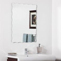 Angelina Modern Bathroom Mirror - 23.6W x 31.5H in. $102