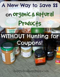 Thrive Market – A New Way to Save on Organic & Natural Products!!   This is like a online version of Costco/Sam's Club for just Whole Foods products.  There are some price comparisons for Wegmans Nature's Market products too!           happydealhappyday.com