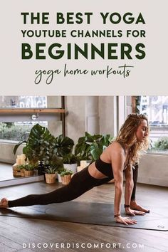 A quick look at the best channels for yoga on YouTube for beginners — after having done a whole bunch of videos. | best yoga youtube channels | yoga beginners learning | yoga beginners video | workouts at home | at home yoga workout | yoga workouts | how to start yoga | at home yoga for beginners | learn yoga at home #yoga #discoverdiscomfort Learn Yoga, How To Start Yoga, Yoga Workouts, At Home Workouts, Exercises, Yoga Fitness, Fitness Tips, 10 Minute Morning Yoga, Yoga Videos For Beginners