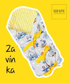 Návod na zavinovačku (střih zdarma), SHAPE-patterns.cz Sewing For Kids, Baby Sewing, Shape Patterns, Sewing Patterns, Baby Born, Julia, Room Accessories, Handicraft, Free Pattern