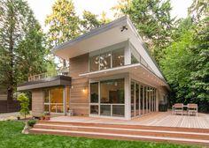 Beaux-Arts Village Residence: House + Deck