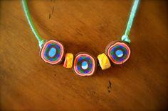 Necklace Round Ula by hairofrhino on Etsy, $15.00