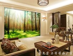 Best 3D three dimensional living room wallpaper ideas and designs 2016