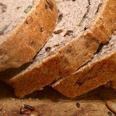 Receita de pão multigrãos sem glúten | Cura pela Natureza.com.br