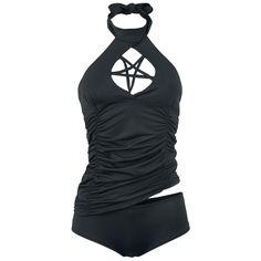 Gothicana by EMP  Zwempak  »Pentagram Tankini«   Nu te koop bij Large   Meer Gothic  Zwempakken online beschikbaar - De beste prijs!