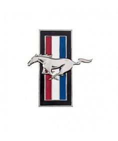 Ford - Ford Mustang Horse Metal Wall Logo