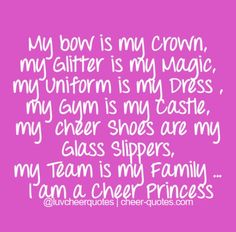 For you Jordyn!!  Forget glass slippers, this princess wears cheer shoes!!