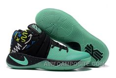 http://www.airfoamposite.com/nike-kyrie-2-green-black-2016-scbtm.html NIKE KYRIE 2 GREEN BLACK 2016 ZRAY2 Only $89.00 , Free Shipping!