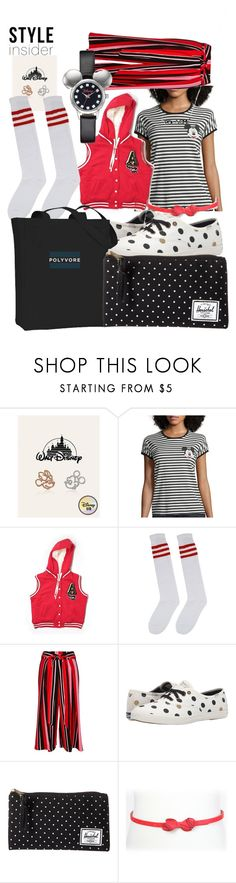"""""""poly Girl"""" by lerp ❤ liked on Polyvore featuring Miss21 Korea, Mighty Fine, Aéropostale, River Island, Keds, Herschel Supply Co., Tatyana, Disney, contestentry and styleinsider"""