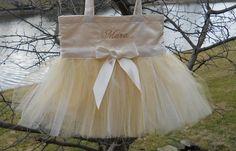 Bridal Tote Bag embroidered tote bag dance bag Satin tote