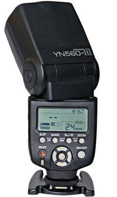 Amazon.com: Yongnuo YN-560 II Speedlight Flash for Canon and Nikon. GN58.: Camera & Photo 75$