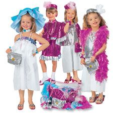 dress up clothes / also an idea , get costumes on clearance after halloween