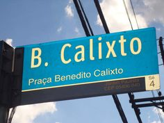 Sao Paulo Shopping: Praça Benedito Calixto