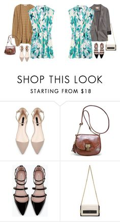 Untitled #17487 by hanger731x on Polyvore featuring Zara, Avenue, Chloé, women's clothing, women's fashion, women, female, woman, misses and juniors