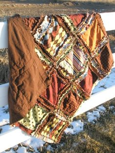 i heart this rag quilt