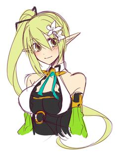 Anime Oc, Female Anime, Girls Characters, Anime Characters, Anime Green Hair, Anime Play, Eve Best, Elsword Game, Anime Style