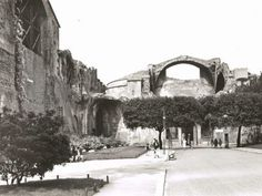 Terme di Diocleziano anni 30 Old Pictures, Old Photos, Best Cities In Europe, Mount Rushmore, Rome, Street View, Mountains, City, Places