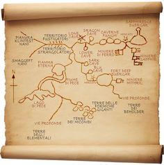 Dungeon della cittadella Duergar di Sapphiredge e delle vie profonde ad essa collegate.