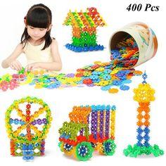 400 Pcs 3D Puzzle Jigsaw Plastic Snowflake Building Blocks Building Model Puzzle Educational Intelligence Toys For Kids♦️ B E S T Online Marketplace - SaleVenue ♦️👉🏿 http://www.salevenue.co.uk/products/400-pcs-3d-puzzle-jigsaw-plastic-snowflake-building-blocks-building-model-puzzle-educational-intelligence-toys-for-kids/ US $5.99