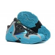 Authentic NIKE LEBRON 11 GAMMA BLUE $107.90  http://www.blackonshoes.com