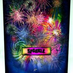These fantastic rays and lens glares will really give your projects the wow factor! And of course you need the SPARKLE sentiment! Sparkles Background, 2017 Inspiration, Image Stamp, Crafters Companion, Wow Products, Fireworks, Stencils, Neon Signs, Stamps