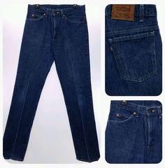 LEVIS VTG Striped Men's 33x34 Jeans 33 x 34 Vintage Stripe Trouser Pant #Levis #Vintage