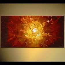 Image result for abstract paintings of the sun