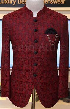 Prince Coat - Uomo Attire Indian Wedding Suits Men, Sherwani For Men Wedding, Indian Groom Wear, Wedding Dress Men, Nigerian Men Fashion, Indian Men Fashion, Mens Fashion Suits, Mens Suits, African Dresses Men