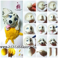 Here is the 3rd of the 101 Dalmatians. This little puppie is kind of tired after playing in the hay If you get enough of all these dalmatians, I will stop sharing them. Otherwise please let me know, because I still have a couple pictorials xxx Bibi https://www.facebook.com/bibisbakery.nl #bibisbakery