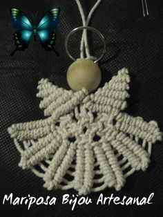 Tutorial Angel de macrame