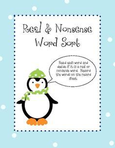 Nonsense words... DIBELS