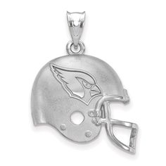 Arizona Cardinals Sterling Silver Football Helmet Pendant, Your Price: $84.99