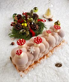 Atomic pecan – JN's desserts – New Year Christmas Candy Bar, Christmas Desserts, Christmas Cookies, Dessert Party, Fancy Food Presentation, Patisserie Design, Fall Cakes, Cake & Co, Beautiful Desserts