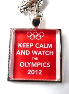 Keep calm and watch the Olympics - starting July 27th!