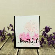 Katherine is so generous! She made even more cards with our February release products. She continues to amaze us with her talent! Check these out! I am not sure